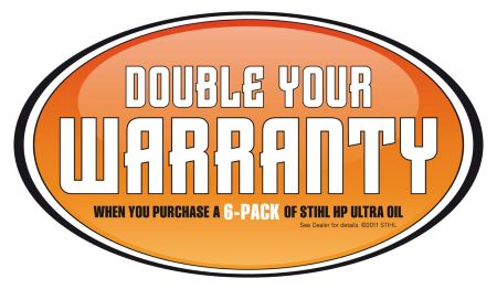 Stihl Double Warranty